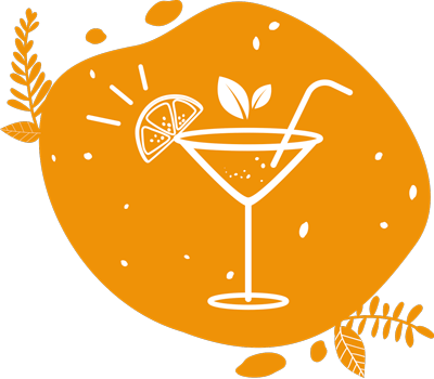 ce pictogramme illustre les cocktails que l'on peut mixer si on décide de louer un vélo smoothie