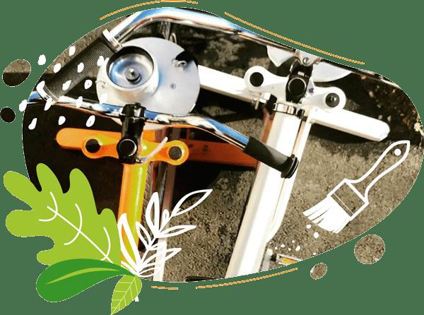 nos vélos sont fabriqués dans notre atelier de la baie du mont saint michel en france