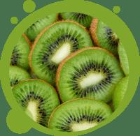 Un smoothie biologique aux kiwis français