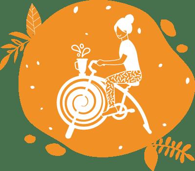 L'animation Cyclojuice est une bonne idée pour sensibiliser à l'importance de faire du sport régulièrement