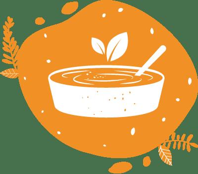 Pour l'apéritif les convives peuvent mixer les tartinades et le houmous