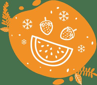 Les fruits surgelés peuvent être mixés au vélo blender
