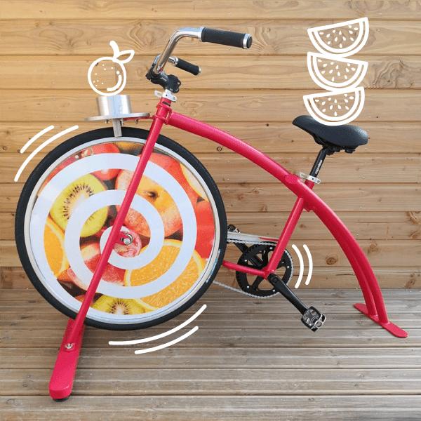 le vélo à smoothie fabriqué en france normandie