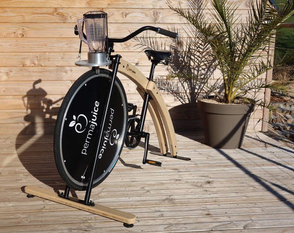le vélo smoothie artisanal woody est conçuen bois